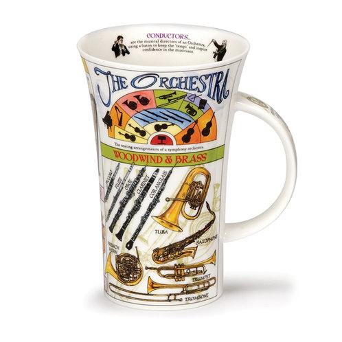 Glencoe The Orchestra - Dunoon fine English bone china