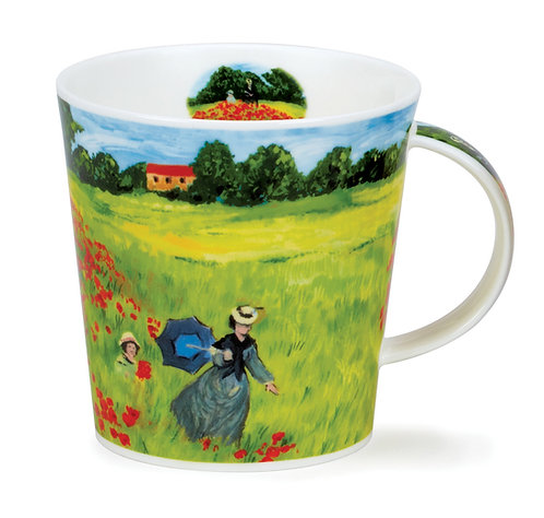 Cairngorm Giverny Poppyfield- Dunoon fine English bone china