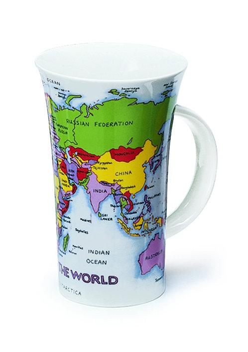 Glencoe Map Coffee and Tea Mug- Dunoon fine English bone china