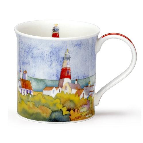 Bute Seaside Lighthouse - Dunoon fine English bone china