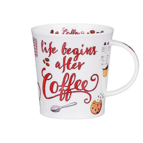 Lomond Coffee Slogans Coffee and Tea Mug- Dunoon fine English bone china