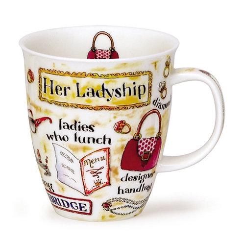 Nevis Her Ladyship Coffee and Tea Mug- Dunoon fine English bone china