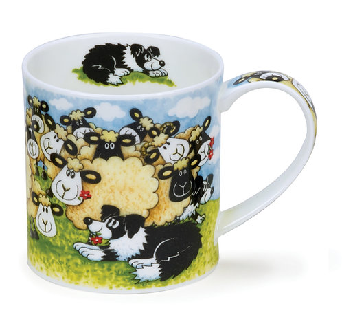 Orkney Silly Sheep - Flock - Dunoon fine English bone china