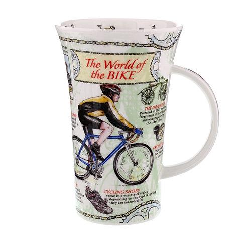 Glencoe World of the Bike Coffee and Tea Mug- Dunoon fine English bone china
