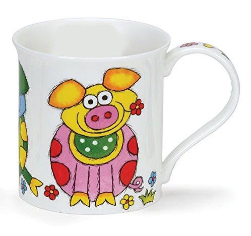 Bute Good Life - Pig - Coffee and Tea Mug- Dunoon fine English bone china