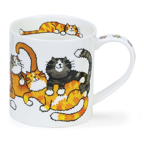 Orkney Jumbled Cats - Dunoon fine English bone china
