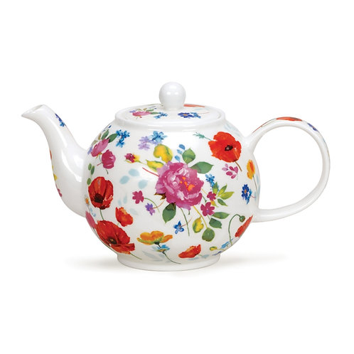 Wild Garden Teapot- Dunoon fine English bone china