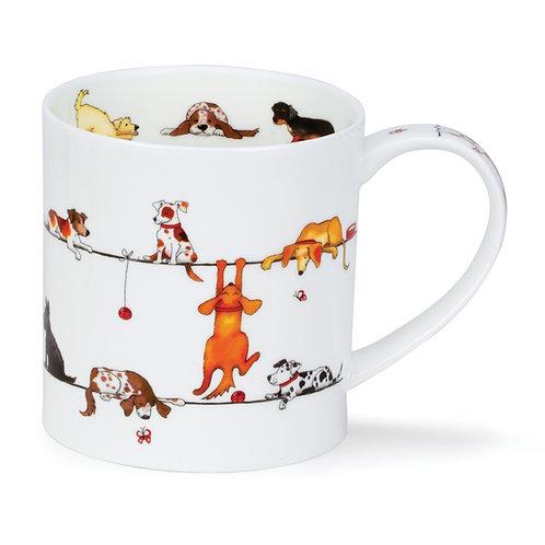 Orkney Live Wires - Dog Coffee and Tea Mug- Dunoon fine English bone china.jpg