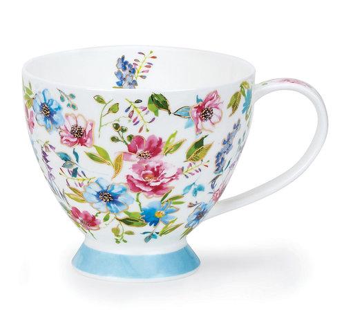 Skye Fleurs Blue- Dunoon fine English bone china