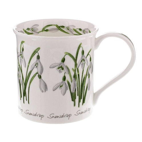 Bute Spring Flowers - Snowdrop - Dunoon fine English bone china
