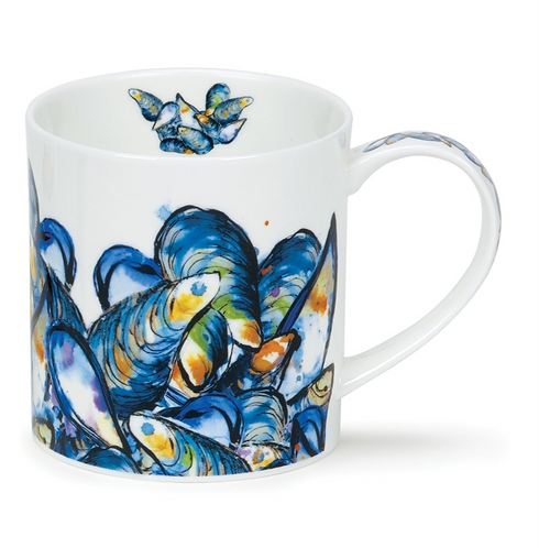 Orkney Dollyhotdogs Plat du Jour Coffee and Tea Mug- Dunoon fine English bone china