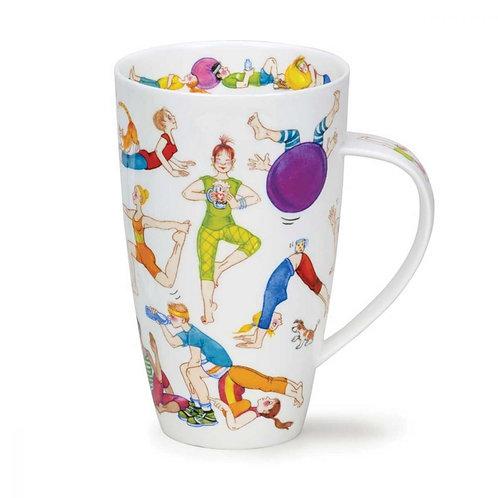 Henley Flexible Friends Coffee and Tea Mug- Dunoon fine English bone china