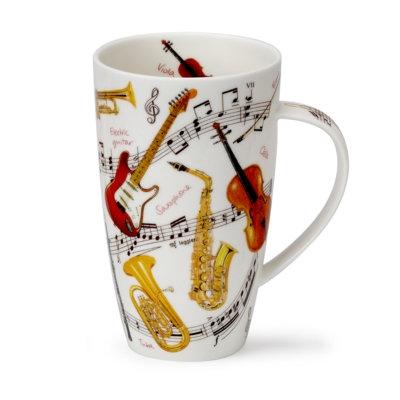 Henley Instrumental Coffee and Tea Mug- Dunoon fine English bone china