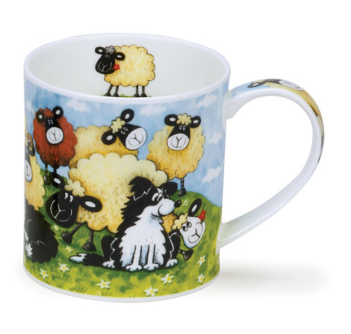 Orkney Silly Sheep - Brown - Dunoon fine English bone china