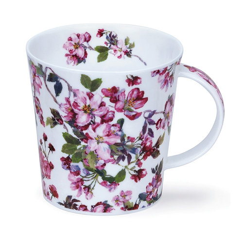 Cairngorm Cottage Blooms Cherry- Dunoon fine English bone china