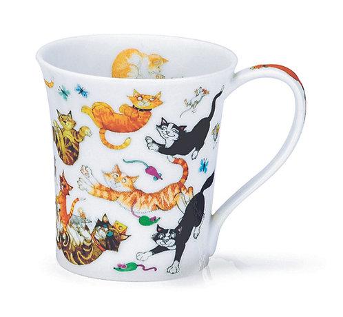Jura Cats Galore - Coffee and Tea Mug- Dunoon fine English bone china