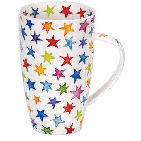 Henley Starburst Coffee and Tea Mug- Dunoon fine English bone china