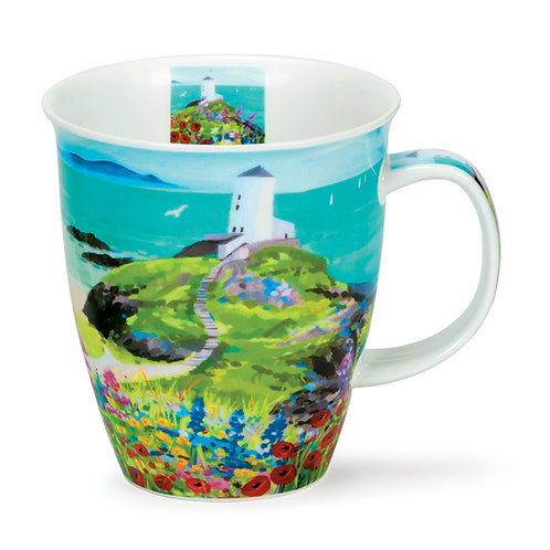 Nevis Sea View - Lighthouse Coffee and Tea Mug- Dunoon fine English bone china