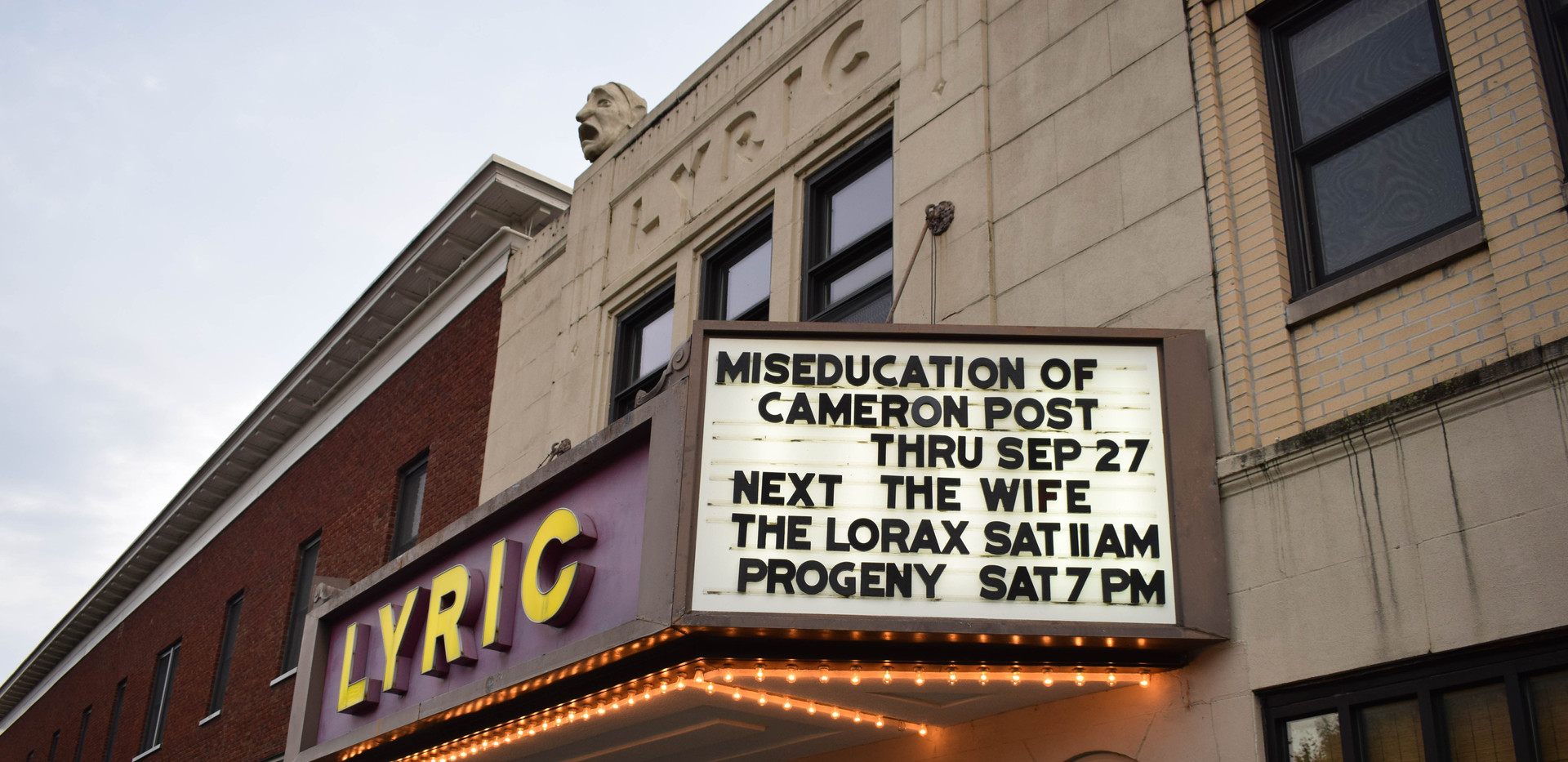 The Progeny Short Film Festival  at The Lyric Theatre. September 22nd, 2018.