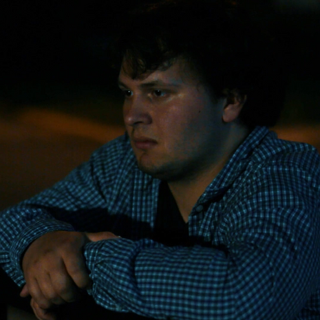 "Brendan Daly as ""Nick"" in Menace, directed by W. Trent Welstead."