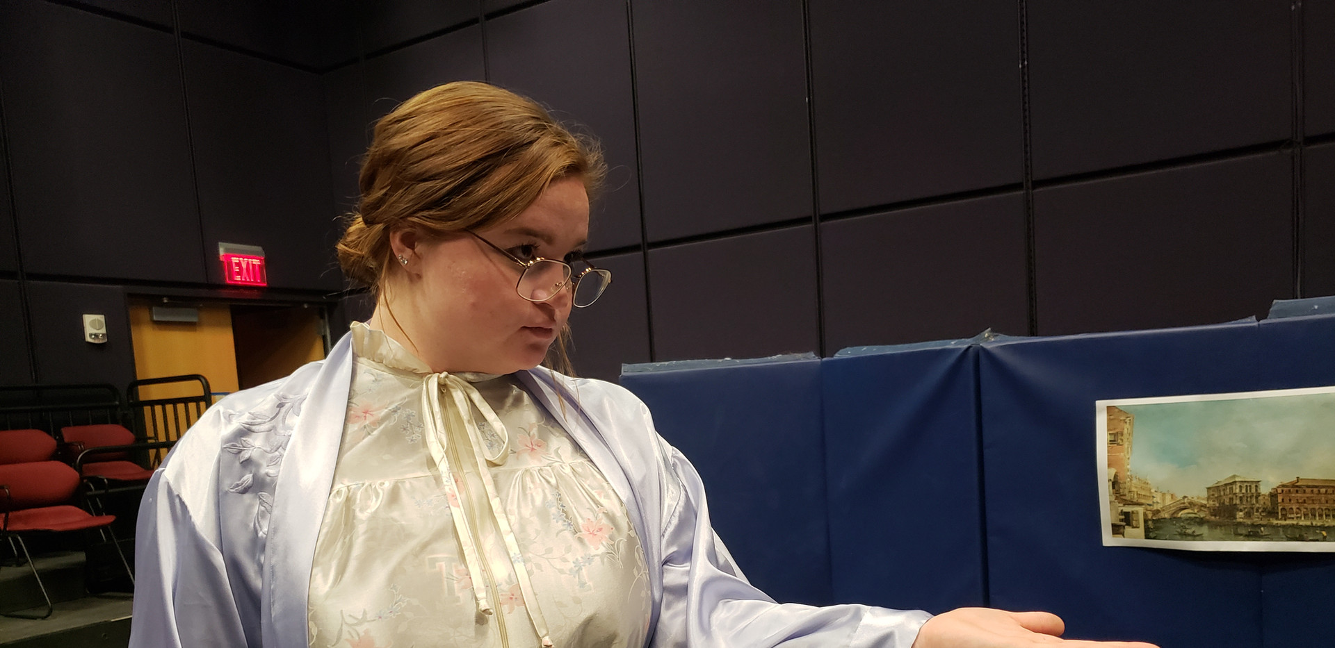 Sydney Kendrick as Mrs. Tilford in The Children's Hour by Lillian Hellman.