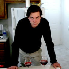 Miles Gheesling (Will) listening to his direction during the 'Apartment' sequence.