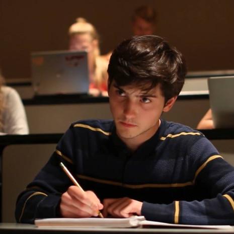 """Ryan Chapman as """"Male"""" in Clock-Boy, directed by W. Trent Welstead."""