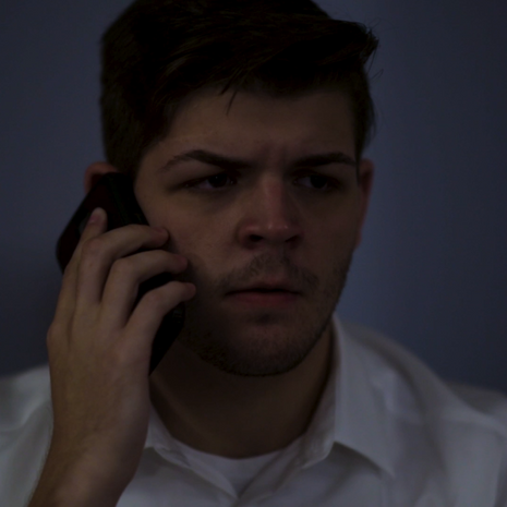 "Matt McDonough as ""Trey"" in Affection, directed by W. Trent Welstead."