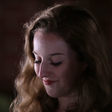 """Maggie Gough as """"Christina"""" in Momentous, directed by W. Trent Welstead."""