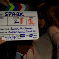 A rather messy slate commences the shot during the 'Steps' sequence.