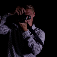 """Danny Purcell as """"The Photographer"""" in Affection, directed by W. Trent Welstead."""