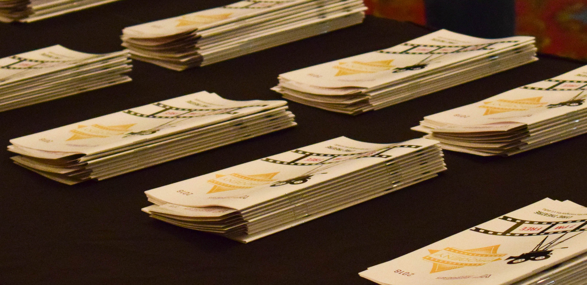Progeny 2018 Programs, designed by Rebekah Seiler, printed and assembled by Virginia Tech Printing Services.