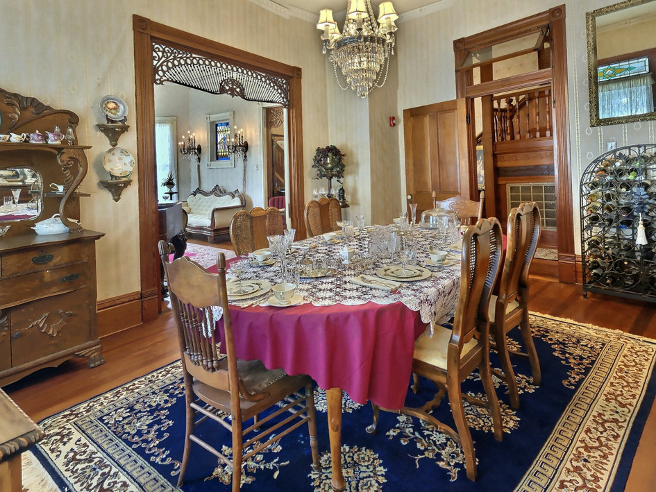 Original dining room