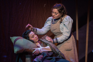 Madeline as Rebecca in NYU Steinhardt's production of Rags