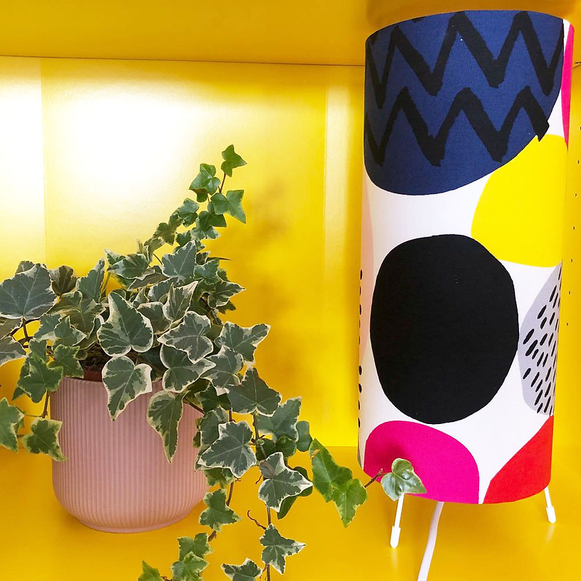 Make Your Own Rolled Table Lamp
