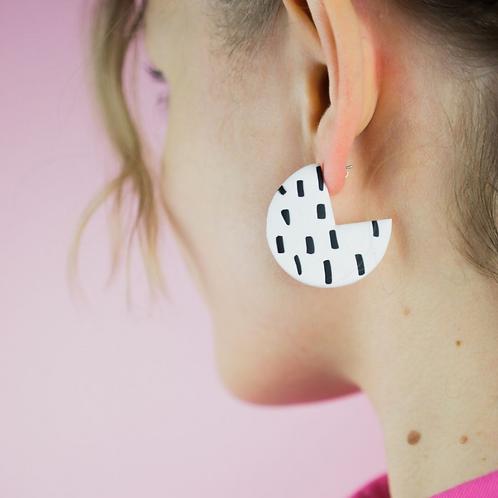 Polymer Clay Hoop Earring Kit