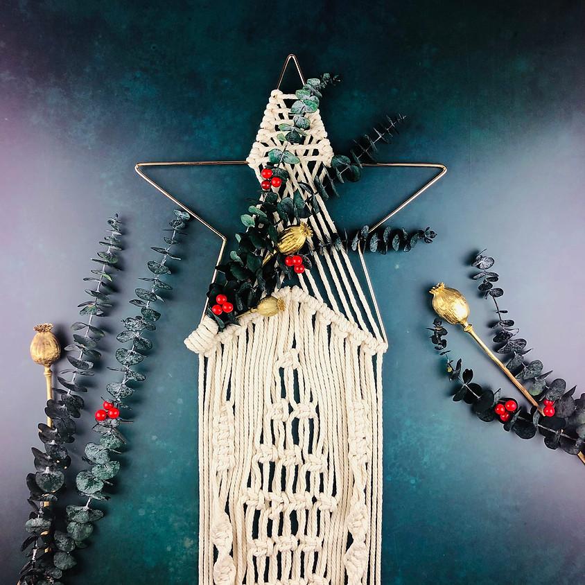 Macrame Christmas Wreath - In Person Workshop