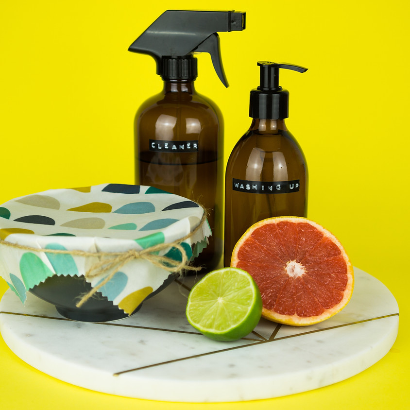 Natural Cleaning Products & Beeswax Wraps Workshop