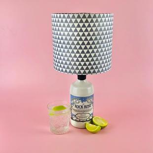 Bottle Lamp & Shade