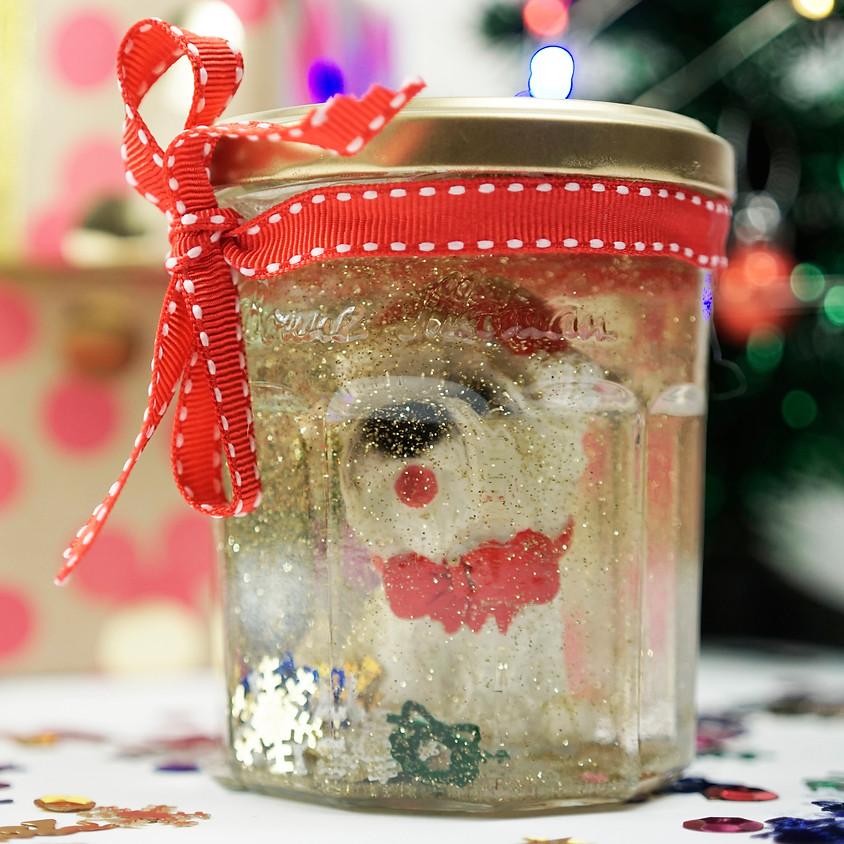 Kids Snowglobe Jar Workshop