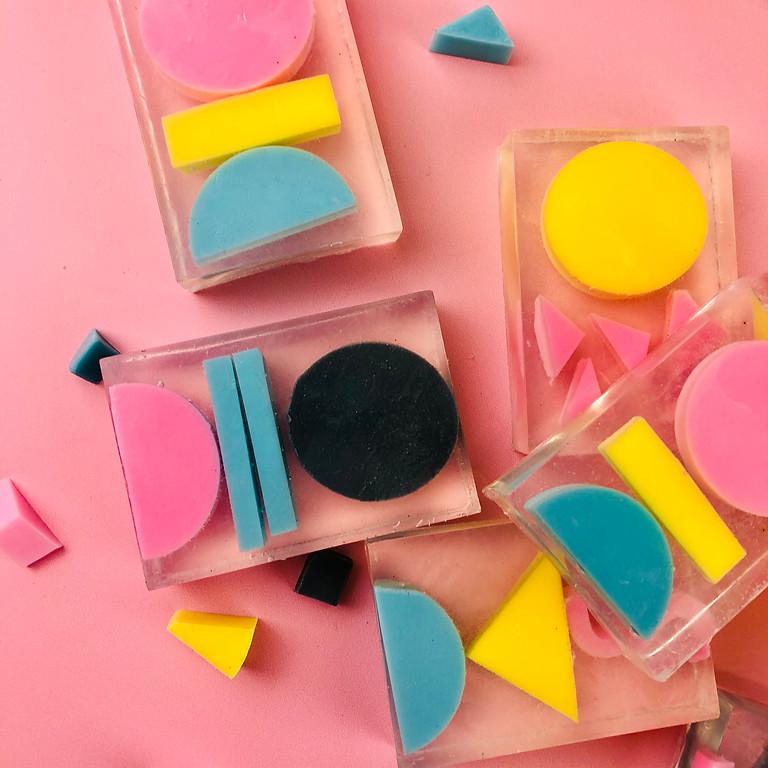 Geometric Soap Making Online Workshop