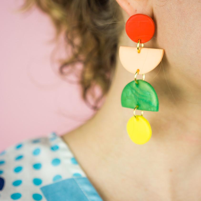 Polymer Clay Earrings Workshop