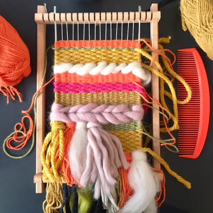 Mini Loom Hand Weaving