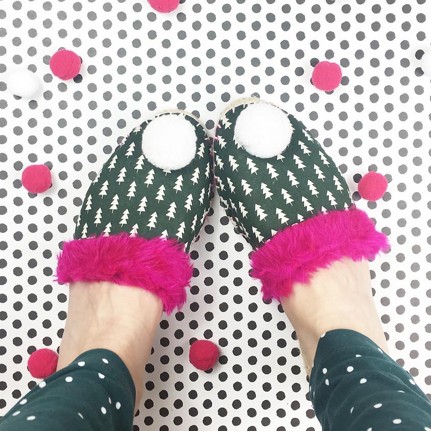 Christmas Slippers Workshop