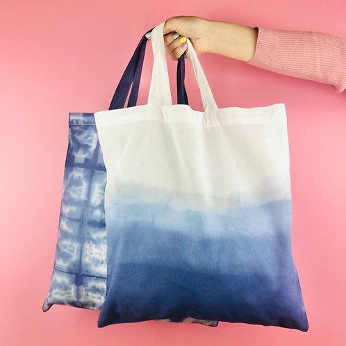 Dip Dyed/Batik Dyed Tote Bag Kit