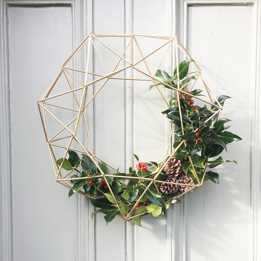 Himmeli Christmas Wreath Workshop