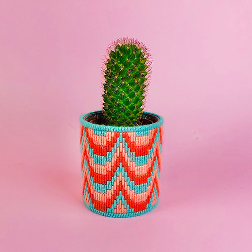 Bargello Plant Pot Kit