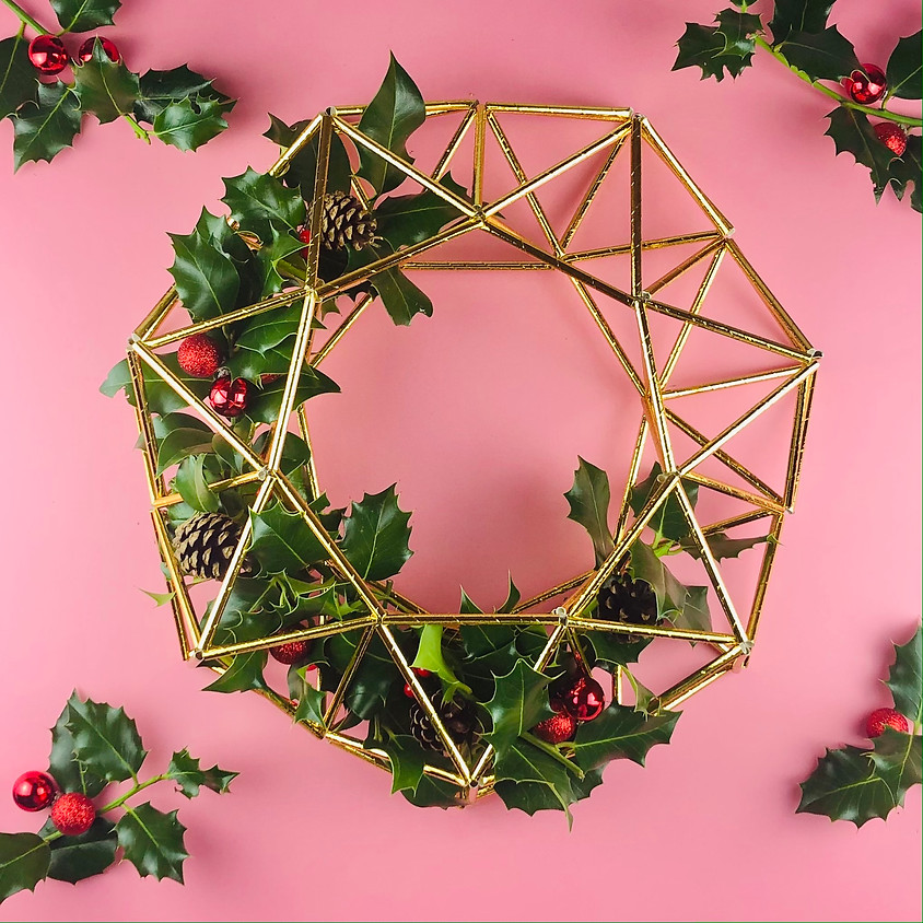 Himmeli Christmas Wreath - In Person Workshop