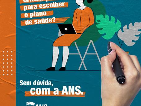 FOCO NA SAÚDE! #ANSComVocê é o slogan da nova campanha publicitária da ANS