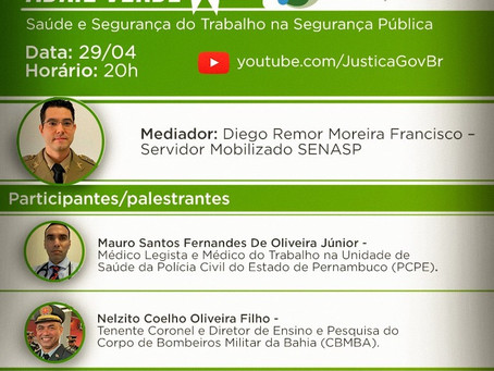 Foco nas lives! Live Abril Verde – Pró-vida Talks